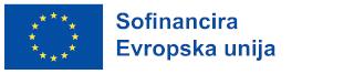 EU Logotip - Sofinancira Evropska unija