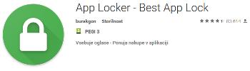 App locker app