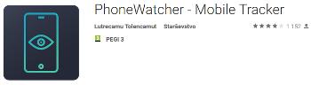 Phone watcher