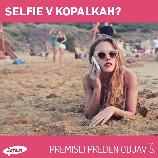 Selfie v kopalkah