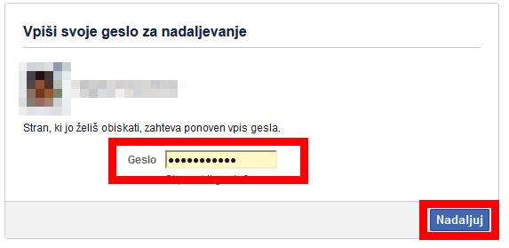 Navodila za deaktivacijo računa na facebooku.