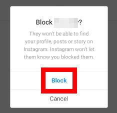 Navodila za blokiranje uporabnika na Instagramu