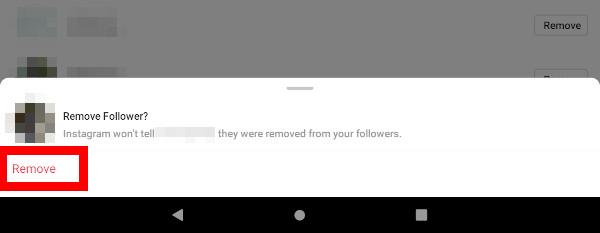 Navodila za odstranjevanje sledilcev na Instagramu
